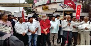 No to Obama - Mumbai rally
