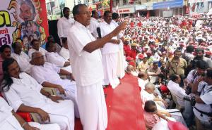 P. Vijayan Announces Decision to Withdraw Picketting